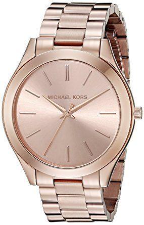 Michael Kors Mid-Size Rose Goldtone