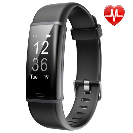 Lintelek Fitness Tracker, Customized Activity Tracker with Heart Rate Monitor