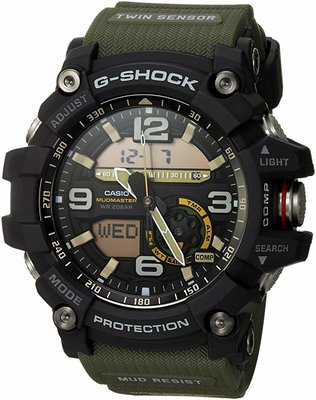 Casio Mens Tactical Watch GG-1000-1A3CR Mudmaster