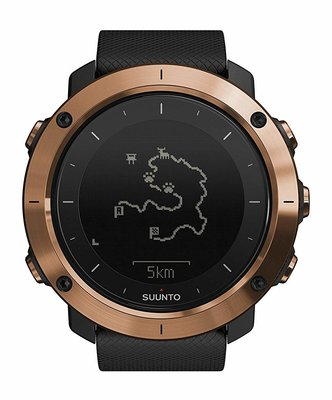 SUUNTO Traverse Alpha GPS Watch- Copper