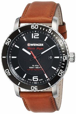 Wenger Gents Roadster Black Night Watch