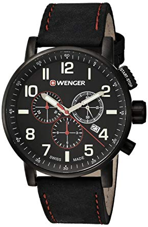 Wenger Mens Attitude Chrono Swiss Quartz