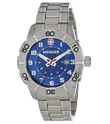 Wenger Mens Roadster Swiss Quartz