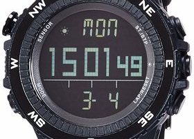 Lad Weather Altimeter Watch Barometer Digital Compass