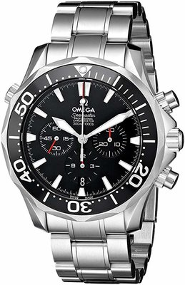 Omega Mens Seamaster 300M Chrono Diver Watch