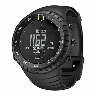 SUUNTO Core All Black Military Mens Outdoor Sports Watch