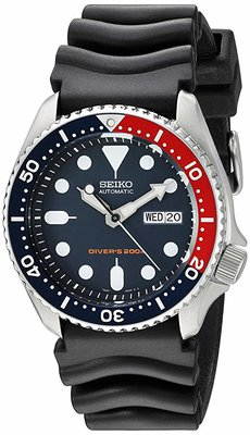 Seiko Divers Automatic Deep Blue Dial Mens Watch